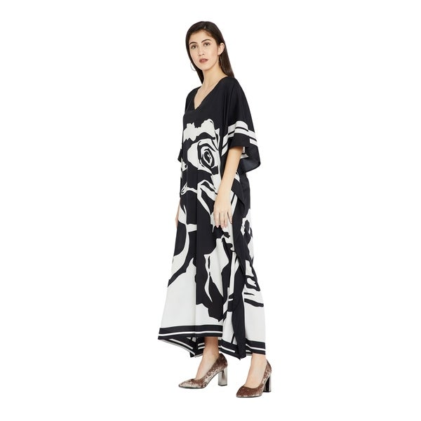 LADIES NEW AFRICAN PRINT LONG KAFTAN DRESS 12 TO 24 FIT