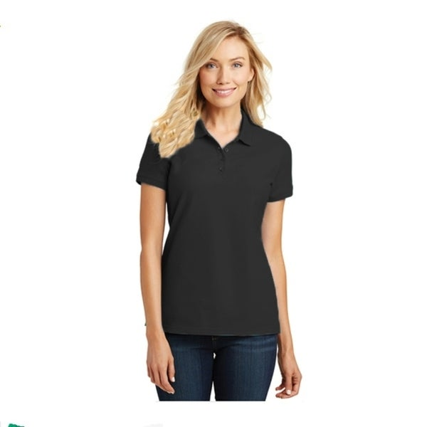 Port Authority Ladies Core Classic Pique Golf Polo