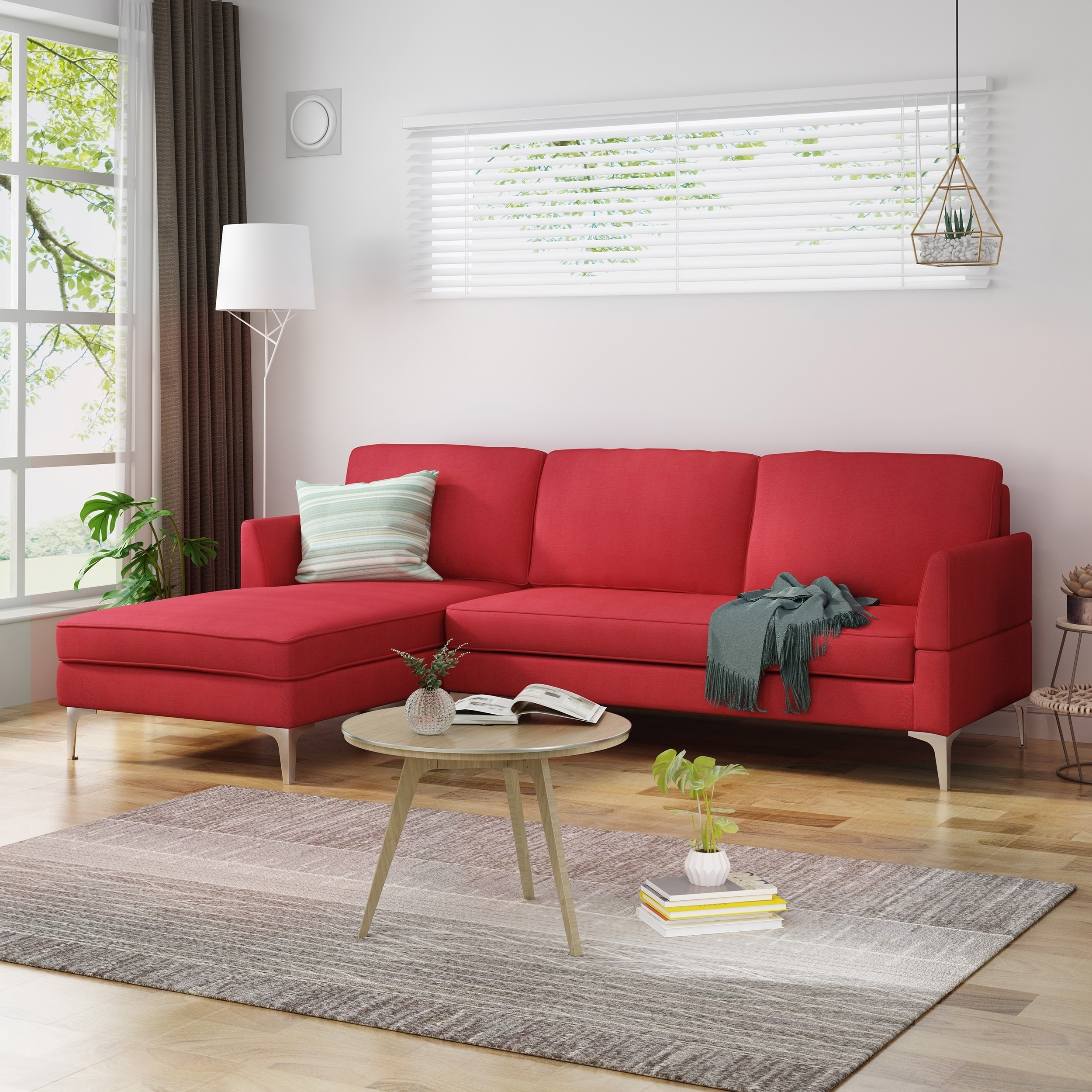 Red Sectional Sofas Online At Our Best Living Room Furniture Deals