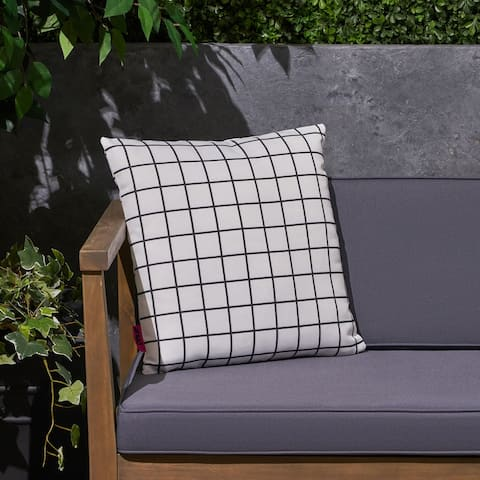 "Chadna Outdoor 17.75"" Square Cushion by Christopher Knight Home"