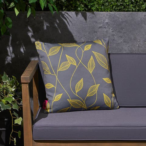 """Magari Outdoor 17.75"""" Square Cushion by Christopher Knight Home"""