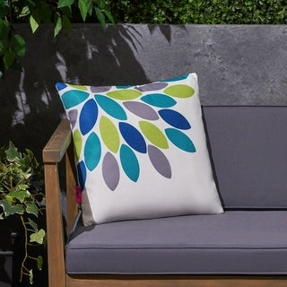 "Soley Outdoor 17.75"" Square Cushion by Christopher Knight Home"