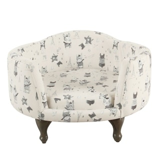 Link to HomePop Pet Bed - Stain Resistant French Bulldog Print Similar Items in Dog Beds & Blankets