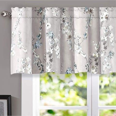 DriftAway Mackenzie Floral Pattern Window Valance