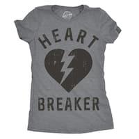 Womens Heartbreaker Tshirt Funny Valentines Day Tee