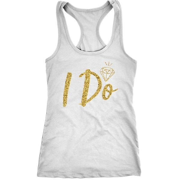 144392cc17 Womens I Do Fitness Tank Top Cute Bridal Party Tank For Wedding Day