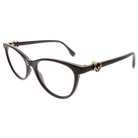 Fendi Cat-Eye FF 0332 F Is Fendi 8CQ Women Cherry Frame Eyeglasses