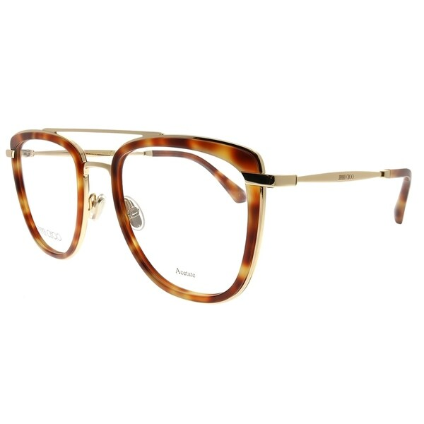 0d28eb5273 Jimmy Choo Square JC 219 086 Unisex Dark Havana Frame Eyeglasses