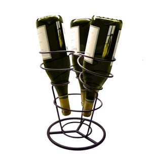 Epicureanist Swirl Wine Rack