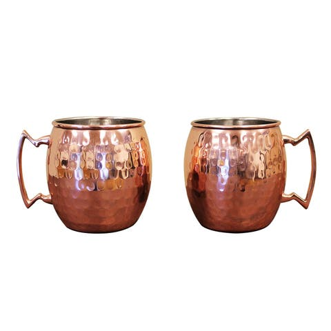 Epicureanist Moscow Mule Mugs (Set of 2)