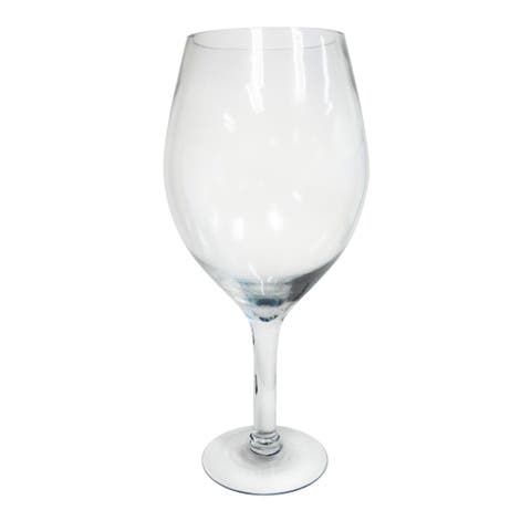 Epicureanist Large Decorative Wine Glass - n/a