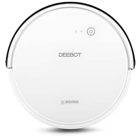 ECOVACS DEEBOT 600 Robotic Vacuum Cleaner Hard Floor Cleaning - White