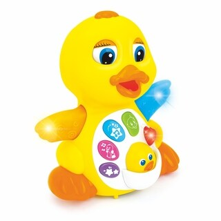 Hola Light Up Dancing and Singing Duck Toy - Musical and Educational Toy