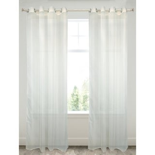 Plain Voile White Window Panel