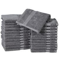 Fine Combed Cotton Washcloths ( Pack of 24 )