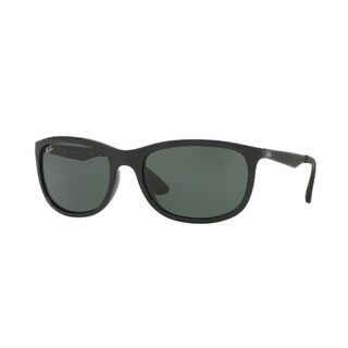 Ray-Ban RB4267 Men Black/Green Classic Sunglasses