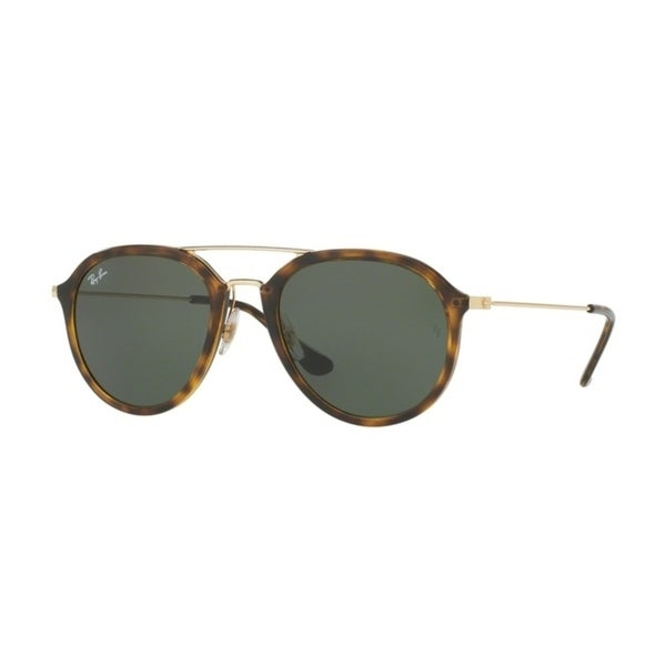 785a5737f7f Shop Ray-Ban RB4253 Unisex Tortoise Green G-15XLT Sunglasses - Free  Shipping Today - Overstock - 23585517