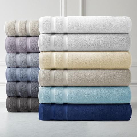 Premium Quality 100 Percent Combed Cotton, 4-Piece Bath Towel Set