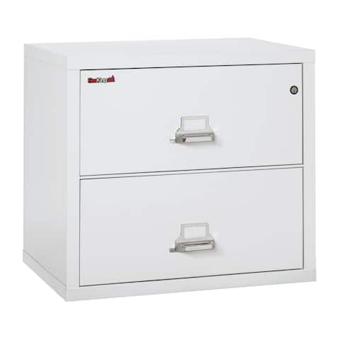 FireKing Fireproof 2 Drawer Lateral File Cabinet