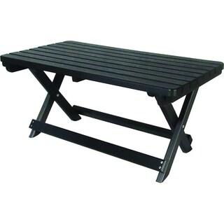 Poly Lumber Folding Coffee Table