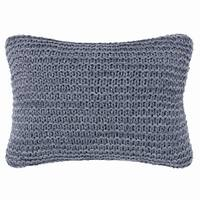 Ellen Degeneres Jaspe Heather Blue Throw Pillow
