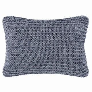 Ellen Degeneres Jaspe Heather Blue Throw Pillow