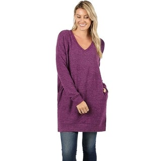 58c7983ddf83f Buy Tunic Long Sleeve Sweaters Online at Overstock