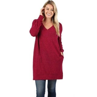 0ff8d257f7 Buy Red Long Sleeve Sweaters Online at Overstock