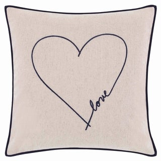 Ellen Degeneres Jaspe Love Heart Throw Pillow
