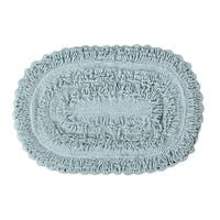 Shop Indulgence Cut And Sculpted Cotton Tufted Bath Rug By