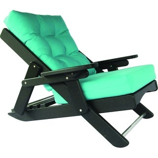 Link to Poly Lumber Caribbean Sling Reclining Folding Chair w/ Deep Seat Similar Items in Patio Furniture
