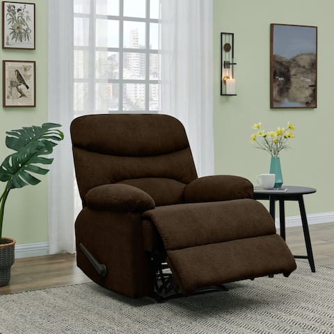 Copper Grove Herentals Chocolate Brown Chenille Wall Hugger Recliner Chair