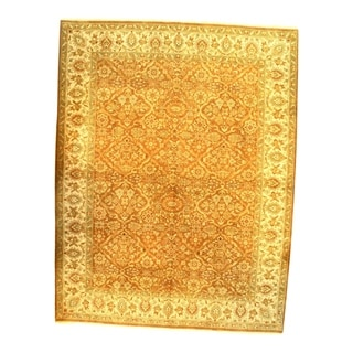"""Pasargad DC Fine Agra Hand-Knotted Rug - 9' X 11'9"""""""