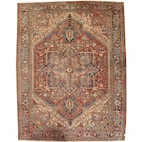 "Pasargad DCPersian Karajeh Hand-Knotted - 9'10"" X 12' 6"""