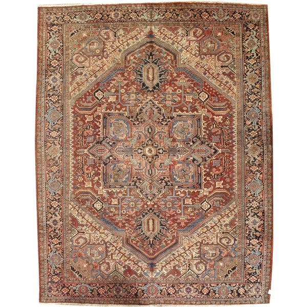 """Pasargad DCPersian Karajeh Hand-Knotted - 9'10"""" X 12' 6"""""""