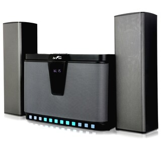 BeFree Sound 2.1 Channel Multimedia Wired Speaker System With Sound Reactive LED Lights