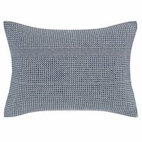 Ellen Degeneres Hanako Dark Blue Throw Pillow