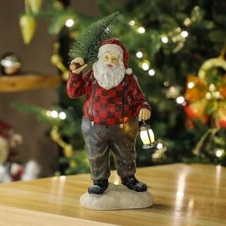 Santa Claus Statuary with LED Light