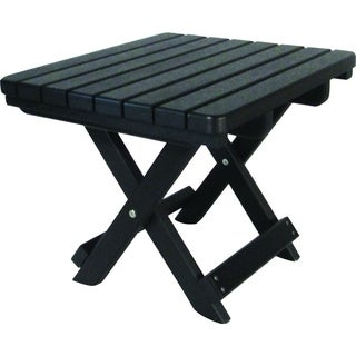 Poly Lumber Folding End Table