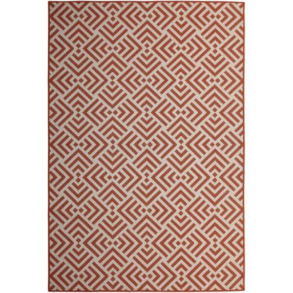 Sutton Home Mandarin (8'x10') Indoor / Outdoor Rug - 8' x 10'