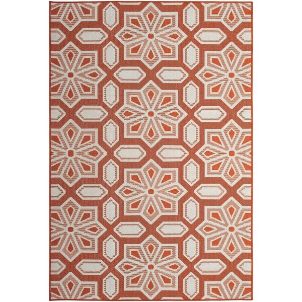 Tori Home Mandarin (5'x8') Indoor / Outdoor Rug - 5' x 8'