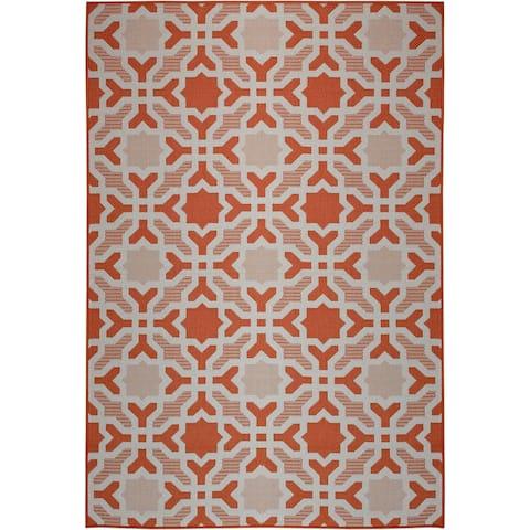Laurel Home Mandarin (5'x8') Indoor / Outdoor Rug - 5' x 8'