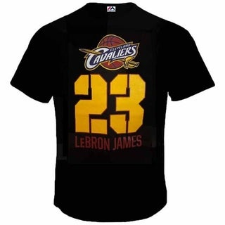 Majestic Youth Throwback Lebron James Century T - Black
