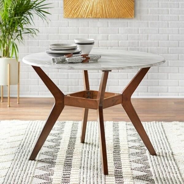 Shop Carson Carrington Tornio 42 Inch Round Dining Table