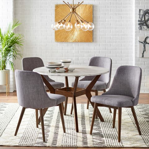 Carson Carrington Tornio Round Dining Set