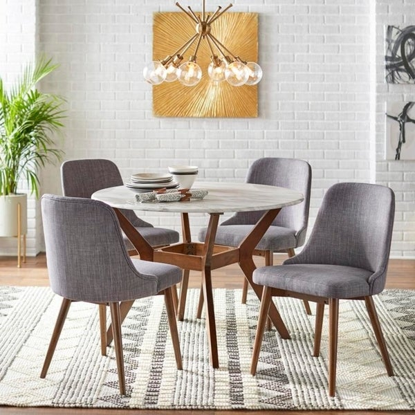 Shop Carson Carrington Tornio Round Dining Set