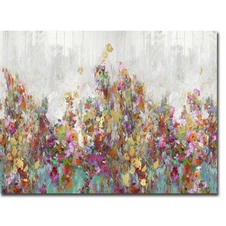 Blooming by Nikki Robbins Gallery Wrapped Canvas Giclee Art (24 in x 32 in, Ready to Hang)