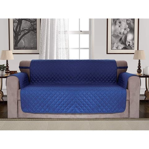 Luxury Home Hotel Quilted Reversible Water Resistant Furniture Protector