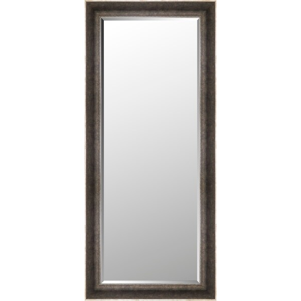 23.75x53.75 Antique Mirror Bevel Mirror by Mirrorize Canada - Black