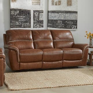 Buy Power Recline Sofas Couches Online At Overstockcom Our Best - Manhattan-leather-studio-sofathe-perfect-leather-sofa-for-your-room